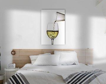 Vin blanc sur Jürgen Wiesler