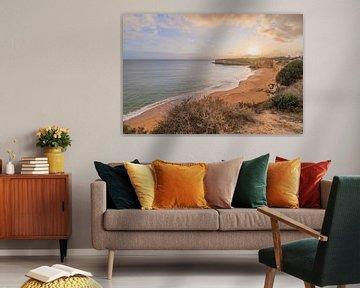 Die Küste der Algarve in Portugal von Bianca Kramer