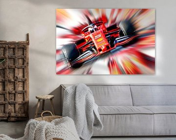 Sebastian Vettel #5 van Jean-Louis Glineur alias DeVerviers