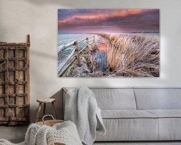 January sunrise - National Park Lauwersmeer van Bas Meelker