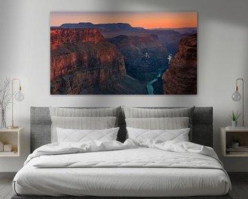 Sonnenuntergang Toroweap, Grand Canyon N.P. Nordrand