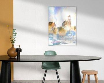 Michel abstract van Peter Norden