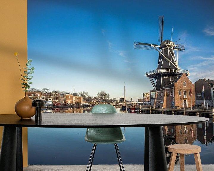Beispiel fototapete: Mühle De Adriaan von Martijn Tilroe
