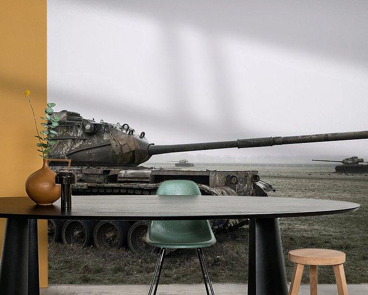 Beispiel fototapete: Urbex Panzer von Ger Beekes