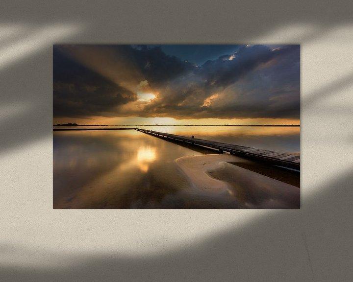 Sfeerimpressie: Light after the Storm - Schildmeer, The Netherlands van Bas Meelker