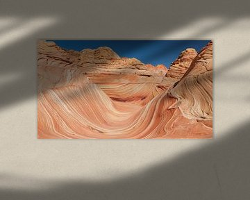 The Wave in de North Coyote Buttes, Arizona