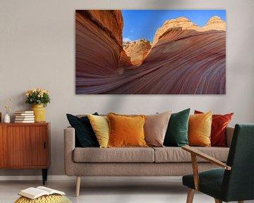 The Wave in de North Coyote Buttes, Arizona van Henk Meijer Photography