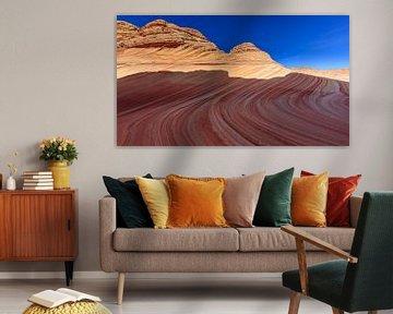Die Welle in den North Coyote Buttes, Arizona