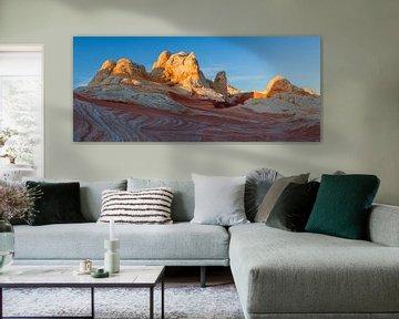 Sonnenaufgang im White Pocket, Arizona, USA