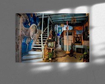Kunst in huis in Havana Cuba che van Sabrina Varao Carreiro