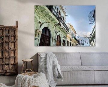 straten van havana cuba van Sabrina Varao Carreiro