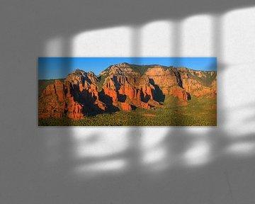 Panorama Sedona, Arizona van Henk Meijer Photography