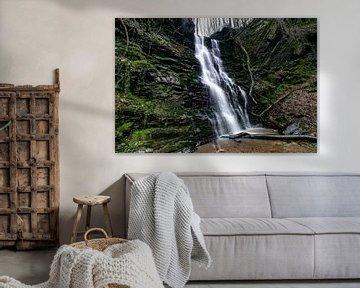 De Klidinger waterval in de Duitse Eifel van Arthur Puls Photography