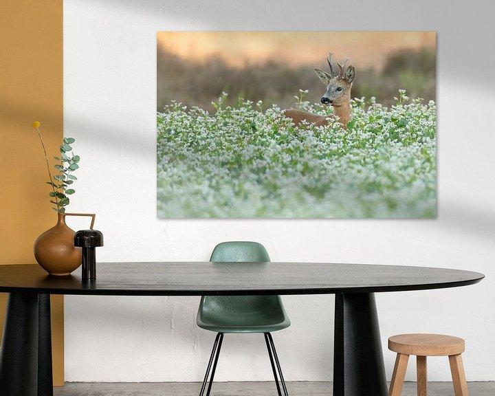 Sfeerimpressie: Reebok in de bloemen van Ina Hendriks-Schaafsma