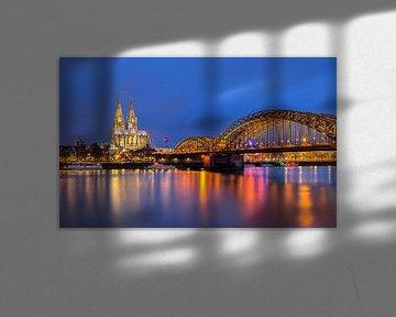 Dom van Keulen aan de Rijn, Duitsland van Adelheid Smitt