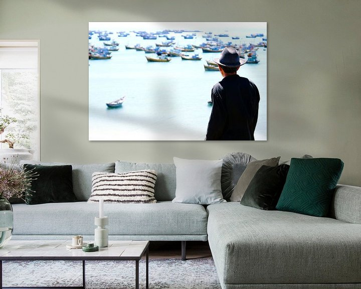 Sfeerimpressie: Old Man and the Sea van Nico van der Vorm