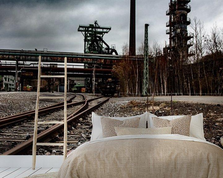 Beispiel fototapete: verlassene Fabrik von bert erven