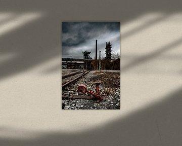 verlaten fabriek van bert erven
