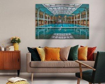Schwimmbad Van Eyck in Gent von Bruno Hermans