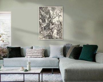 Das Marienleben: Joachim und der Engel, Albrecht Dürer von De Canon