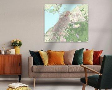 Kaart vanHarderwijk