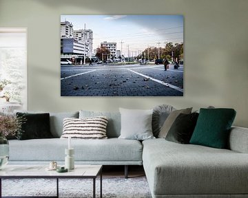 Lonely Plaza, Duitsland van A. David Holloway