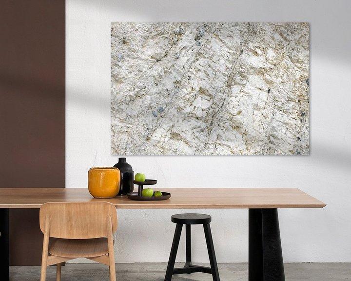 Sfeerimpressie: Wand in kalkgroeve van Hanneke Luit