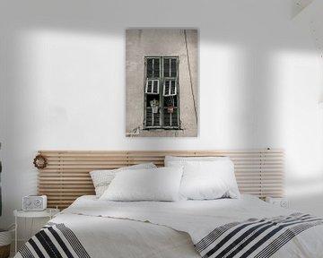 Fenster mit Fensterläden von Anouschka Hendriks