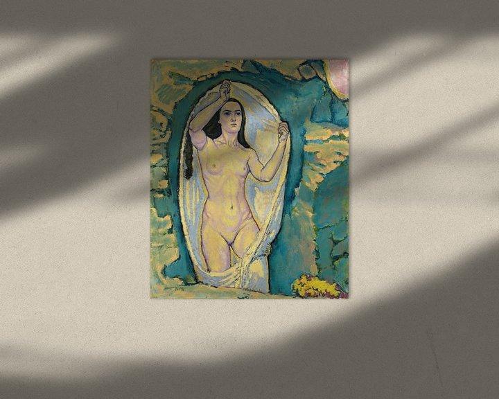 Beispiel: Venus in der Grotte, Koloman Moser