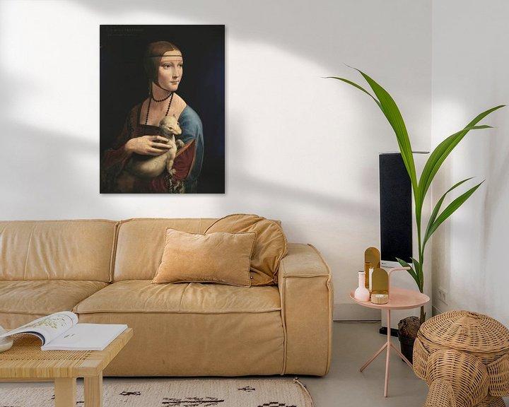 Beispiel: Dame mit Hermelin, Leonardo da Vinci