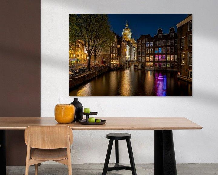 Sfeerimpressie: Red Light District Amsterdam van Fotografie Ronald