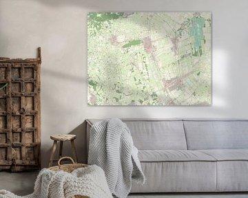 Kaart van Twenterand