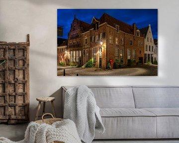 Ecke Bergstraat Bergkerkplein Deventer von Fotografie Ronald