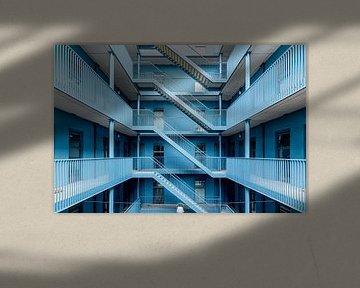 Blau von Wanda Michielsen