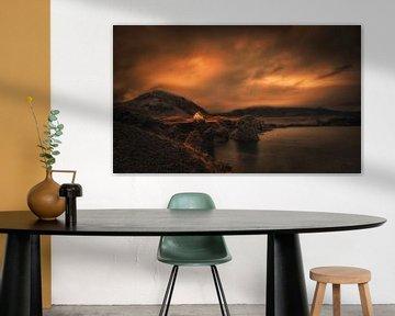 Mystisches Island . Preisgekröntes Bild von Saskia Dingemans