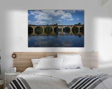 Brücken über die Dordogne von Geert van Kuyck
