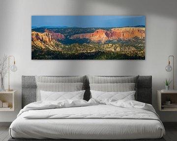 Panorama van Bryce Canyon Nationaal Park, Utah van Henk Meijer Photography