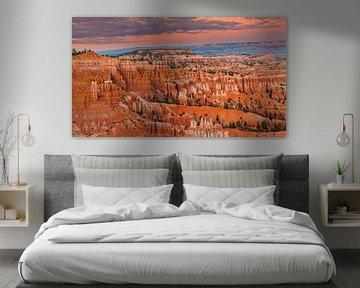 Sonnenuntergang Bryce-Canyon-Nationalpark, Utah