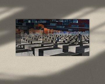 Eindruck Holocaust Monument und Umgebung von Hanneke Luit