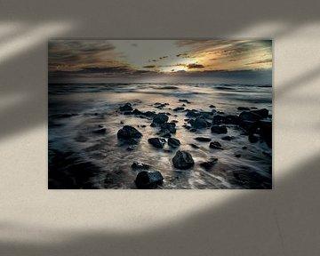 Ameland strand bij Hollum