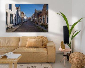 Oud Hollands straatje van Bram van Broekhoven