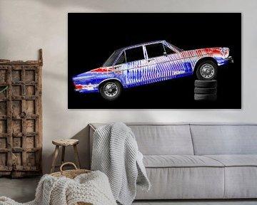 Audi 100 C1 Art Car sur aRi F. Huber