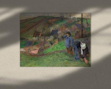 Landschaft der Bretagne, Paul Gauguin