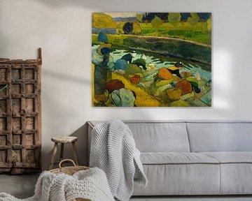 Wäscherinnen, Paul Gauguin