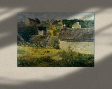 Huizen in Vaugirard, Paul Gauguin