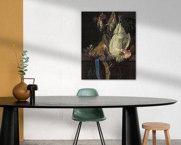 Stilleben mit totem Wild, Willem van Aelst