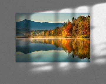 Herfstkleuren aan de grote Ostersee van Denis Feiner