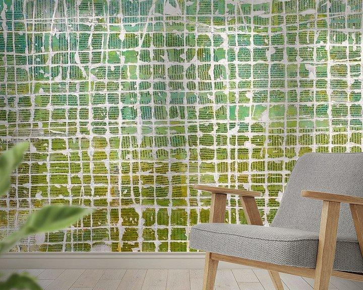 Sfeerimpressie behang: ON THE SURFACE van db Waterman