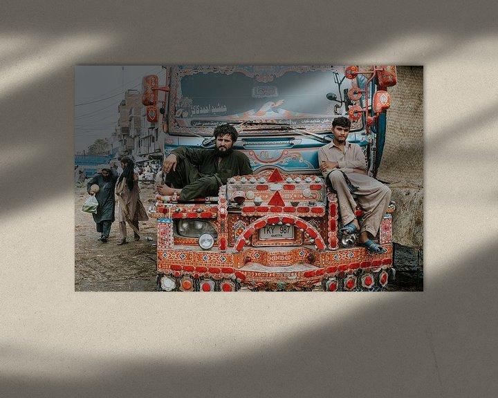 Sfeerimpressie: Pakistan | Lahore van Jaap Kroon