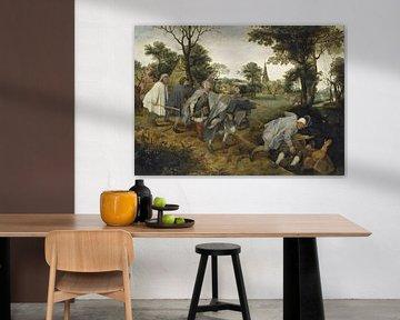 Der Blinde, der die Blinden führt, um 1568 Pieter Bruegel d.Ä.